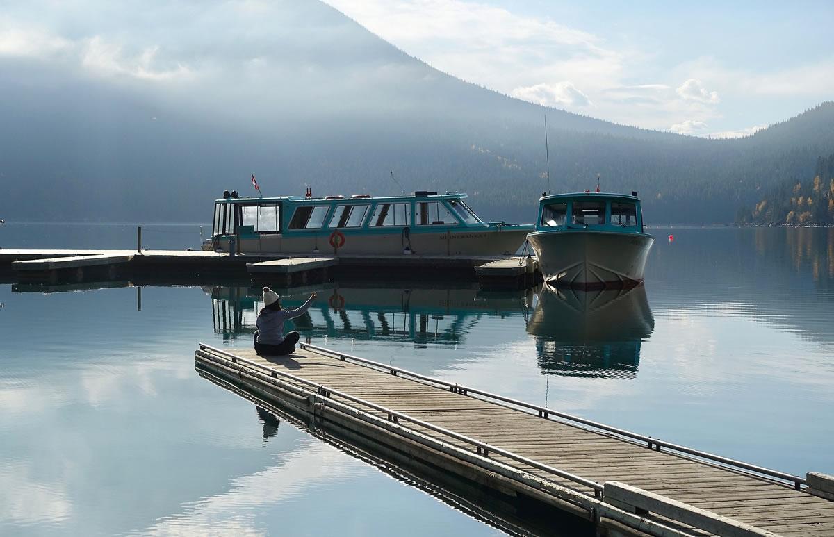 Liegeplätze von Hausbooten