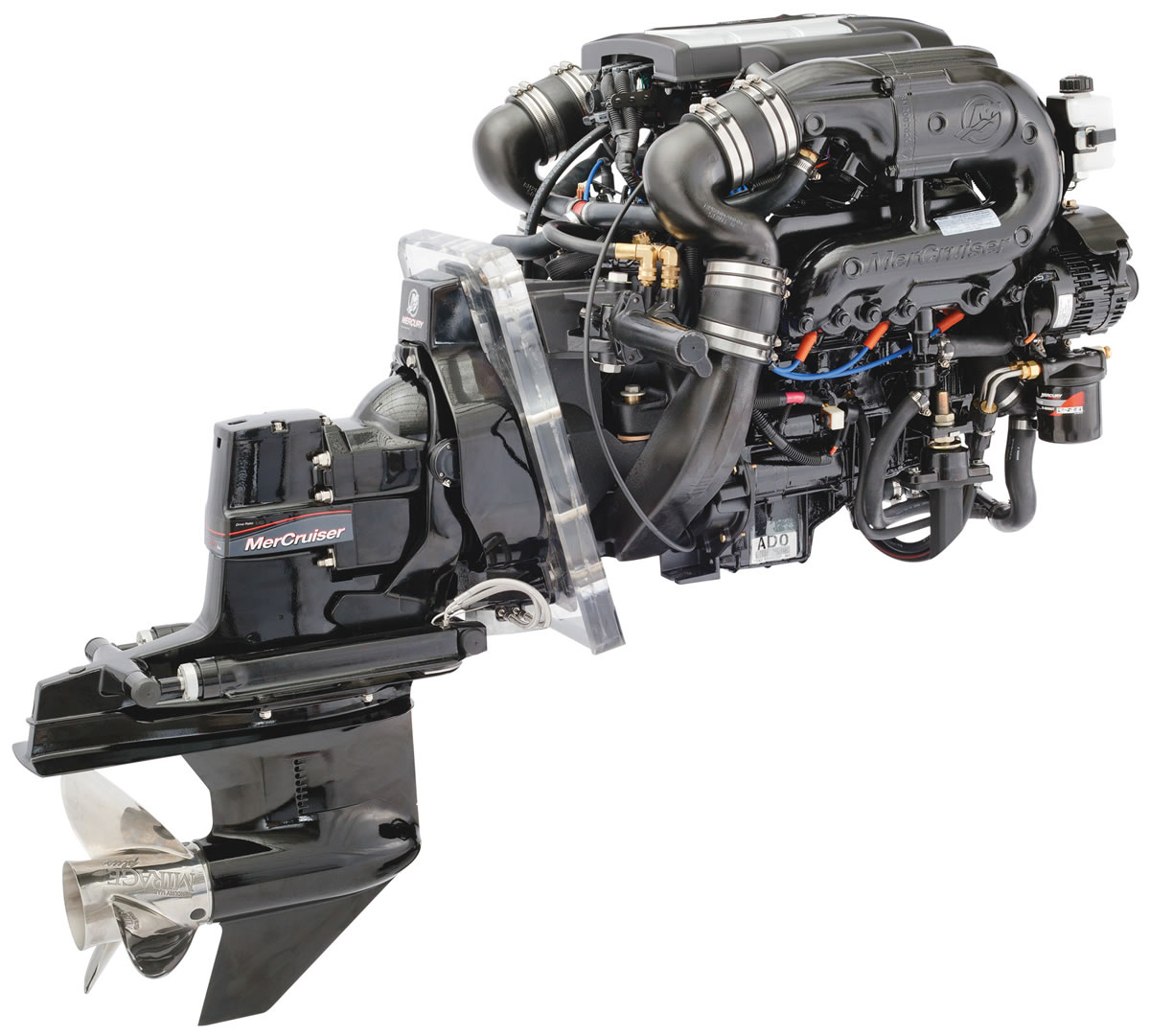 Hausboot Antrieb Z-Antriebs-Motor