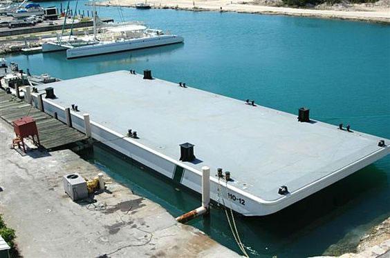 Hausboot Materialien Stahl