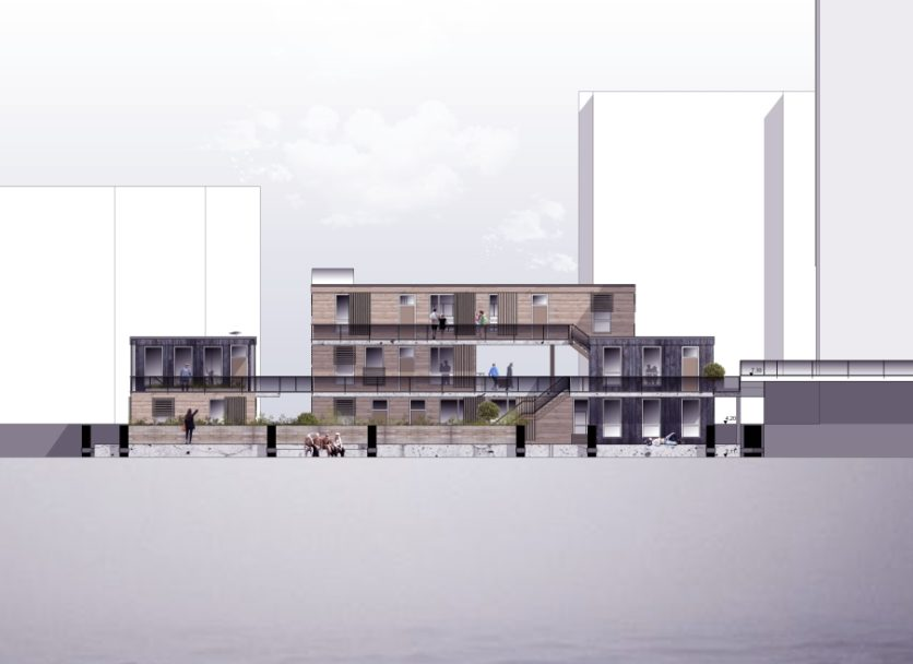 """""""AquAtecture – Generationen-übergreifendes Wohnen auf dem Wasser"""""""