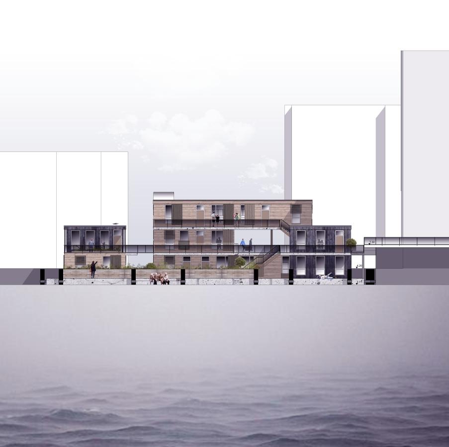 """""""AquAtecture - Generationen-übergreifendes Wohnen auf dem Wasser"""""""