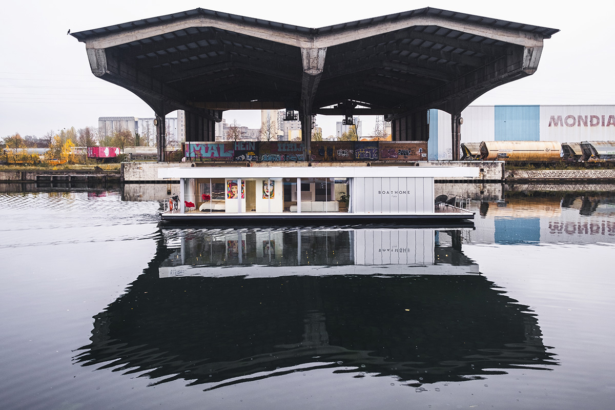 Hausboot kaufen - Impressionen aus Strasbourg