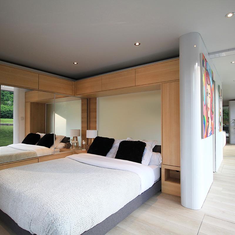 Hausboot kaufen - Schlafzimmer