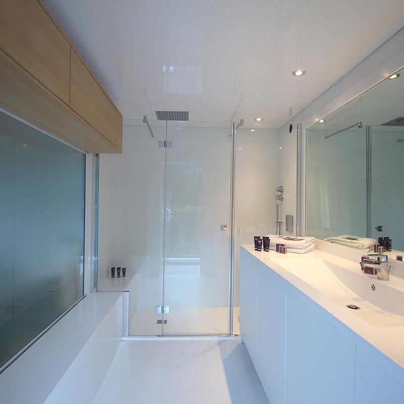 Hausboot kaufen - Badezimmer