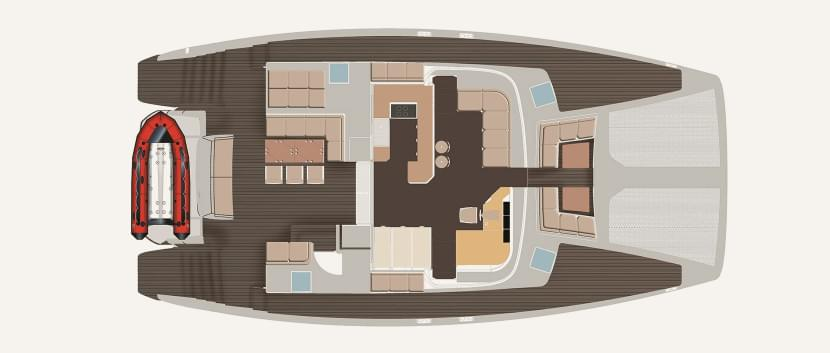 Mückennetz für Boote d/'oro deck 3 Gr Decksluken