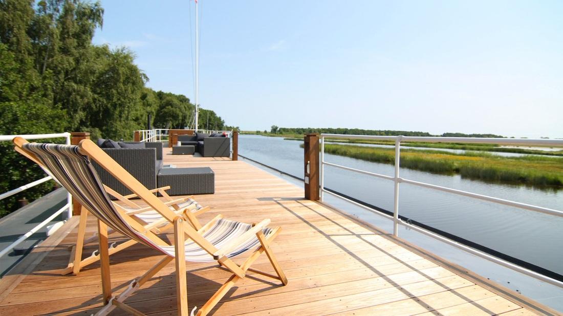 Hausboot kaufen - Wohnschiff