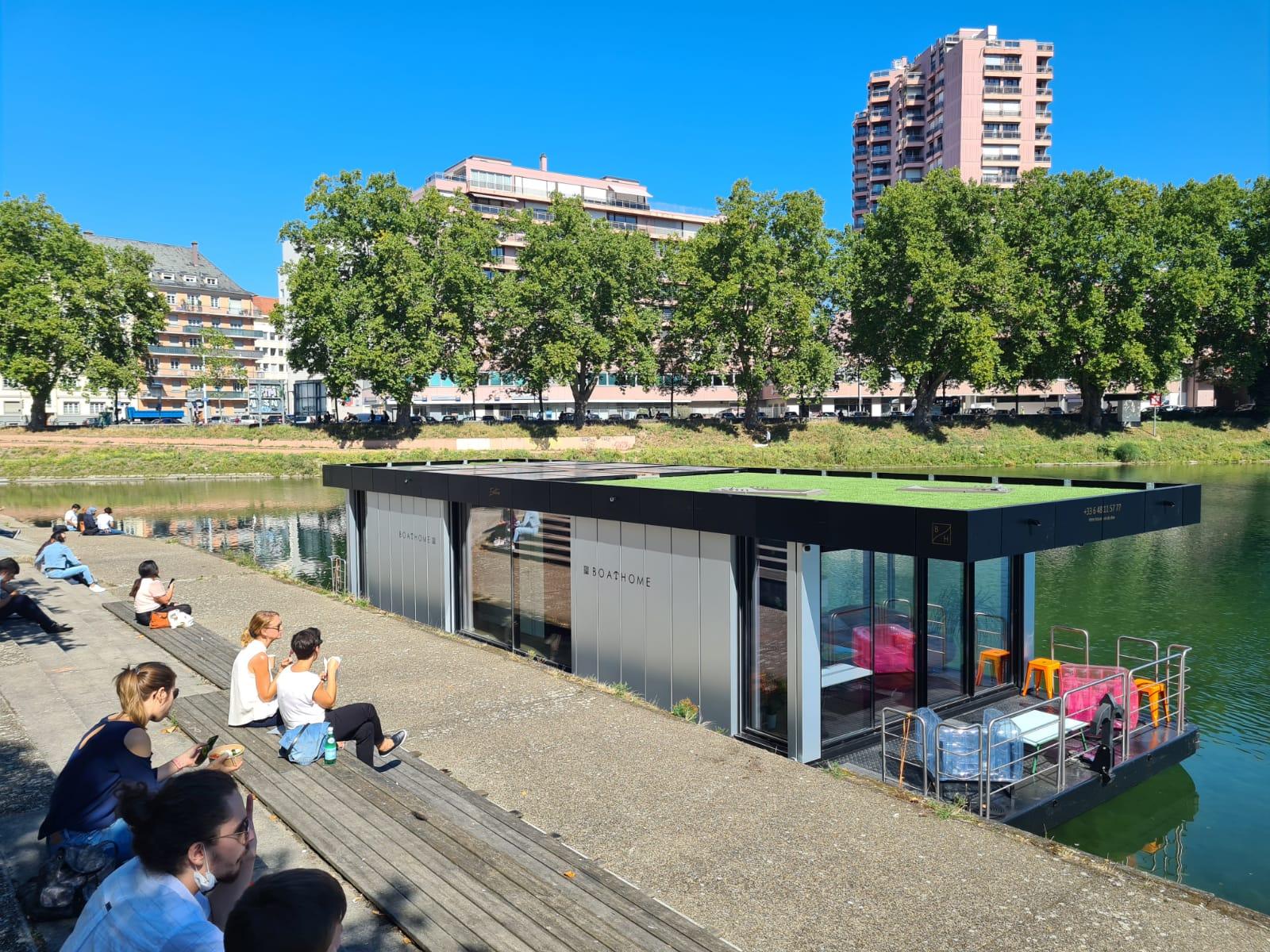 Hausboot kaufen - Hausboot Liegeplatz